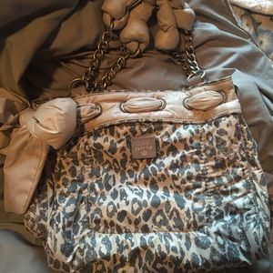 NWOT authince leopard juicy couture tote
